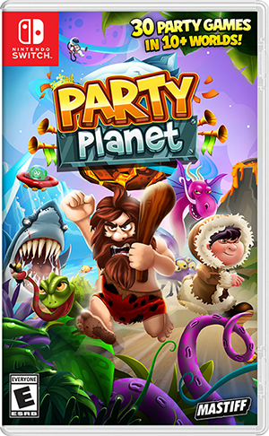 パーティゲーム『Party Planet』が海外で2017年12月12日に発売決定!