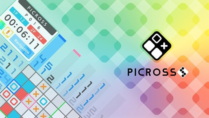 ピクロスがSwitchに!『Picross S』がNintendo Switchで発売決定!