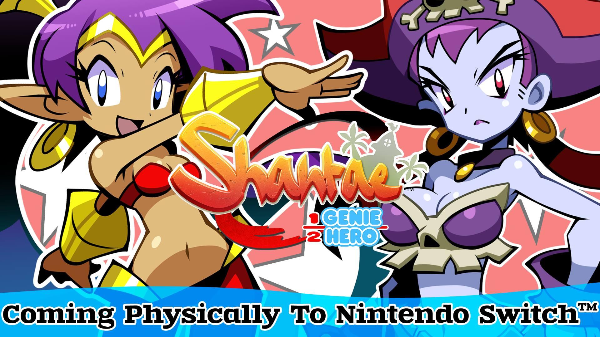 『Shantae(シャンティ):Half-Genie Hero』のパッケージ版が発売決定!
