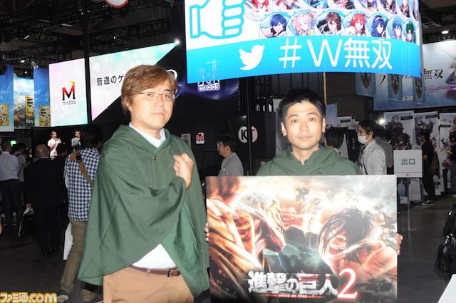 【情報追加】『進撃の巨人2 attack of titan』 鯉沼P&鈴木Dへのインタビューが各メディアで公開! 【TGS2017】