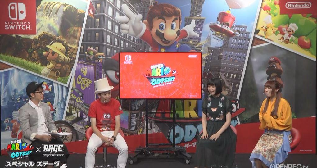 東京ビッグサイト スペシャルステージで『スーパーマリオ オデッセイ』のプレイ動画が公開!
