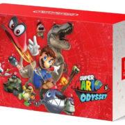 『Nintendo Switch スーパーマリオ オデッセイセット』の箱の裏側はこんな感じ