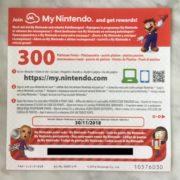 ヨーロッパの『Super NES Classic Edition』には300プラチナポイント分のコード用紙が付属している