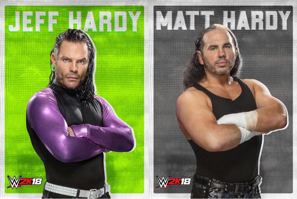 『WWE 2K18』にハーディー・ボーイズがDLCで配信決定!