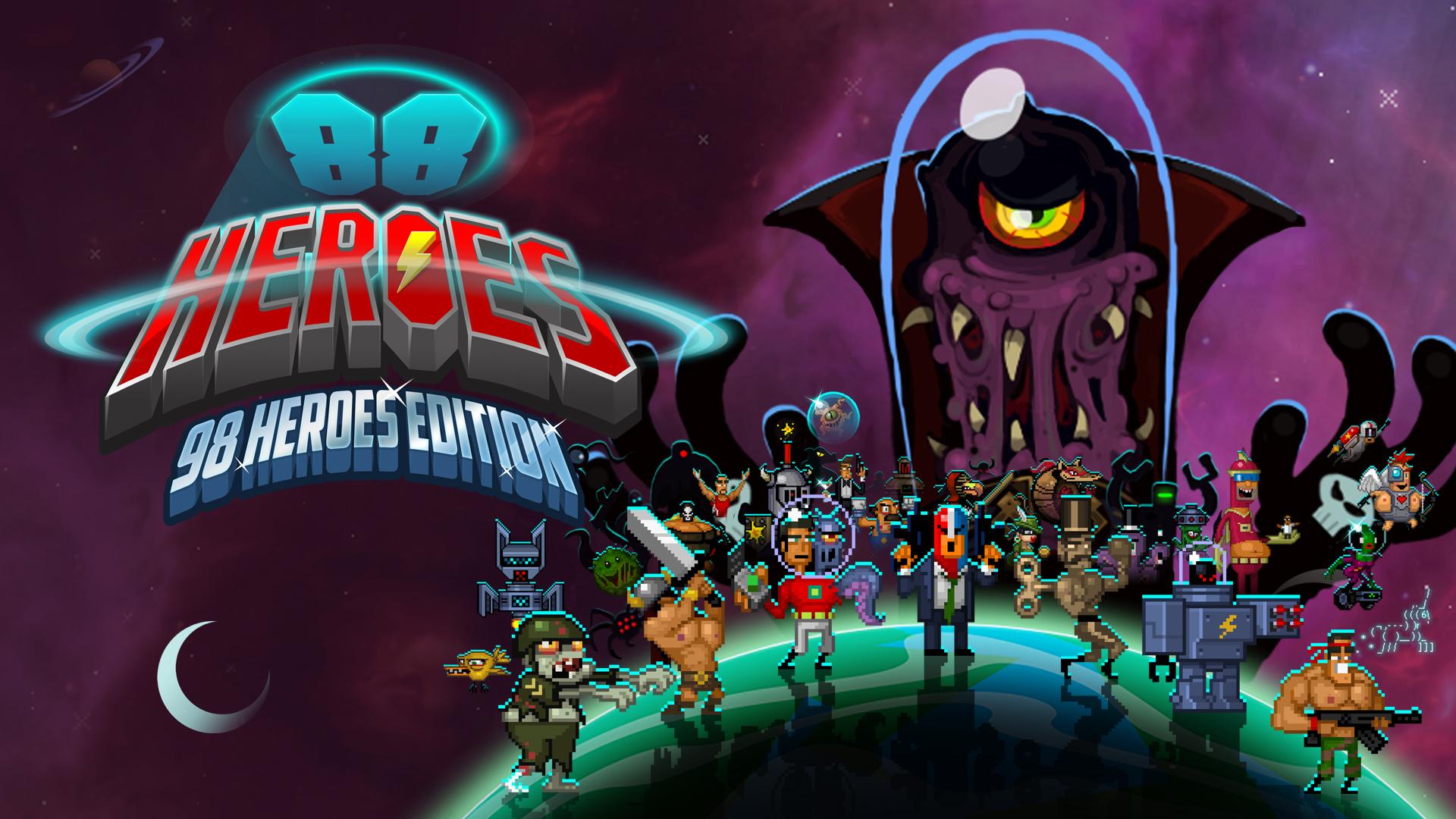 『88 Heroes 98 Heroes Edition』の日本語版が配信開始!