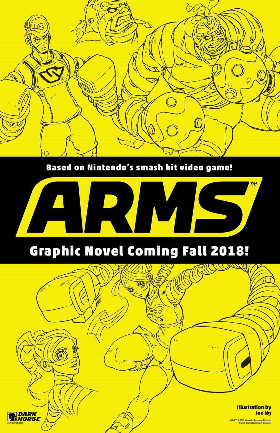 Dark Horse Comicから『ARMS』のグラフィックノベルが発売決定!