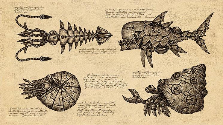 海洋シューティングゲーム『Earth Atlantis』の国内配信日が2017年10月19日に決定!