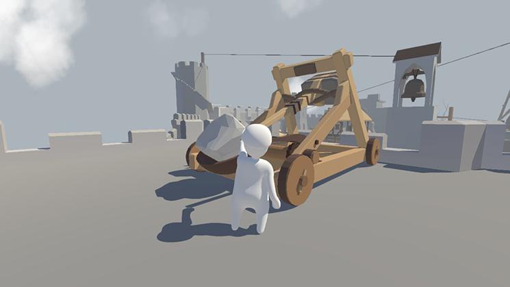 物理シミュレーション系のパズルゲーム『Human: Fall Flat』の海外配信日が12月7日に決定!