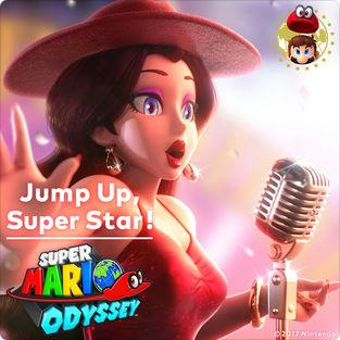 『スーパーマリオ オデッセイ』のテーマ曲「Jump Up, Super Star!」がiTunes Storeで配信開始!