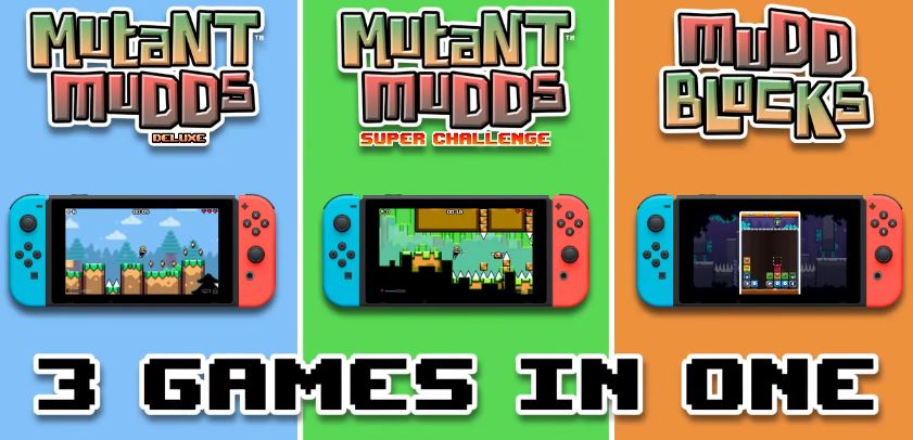 『Mutant Mudds Collection』がNintendo Switchで発売決定!