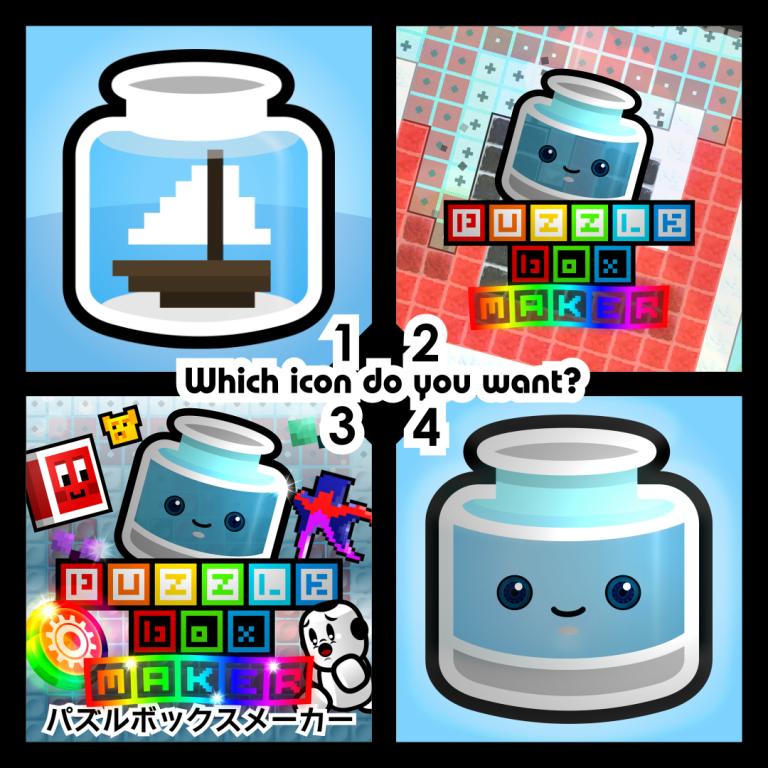 Switch用ソフト『Puzzle Box Maker』のホーム画面のアイコンを決める投票が始まる