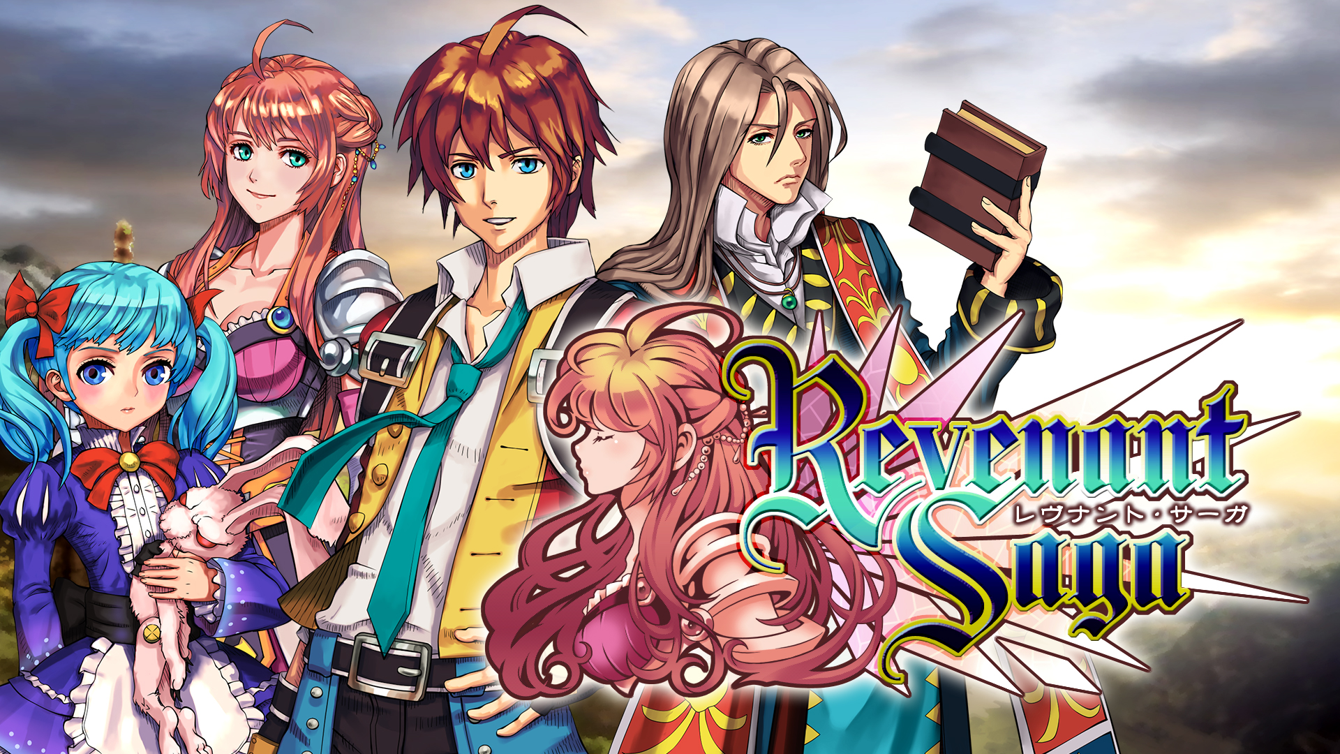 ケムコのRPG『レヴナントサーガ』がNintendo Switchで発売決定!
