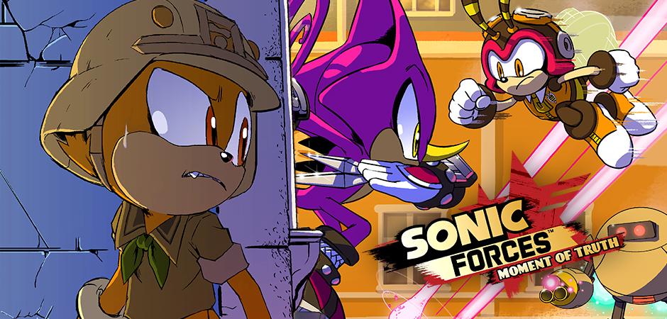 『ソニックフォース』の公式WEBコミックが無料公開開始!