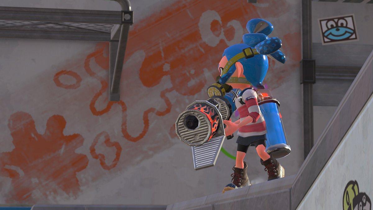 『スプラトゥーン2』で2017年10月21日午前11時から新しいブキ「ロングブラスター」が追加決定!