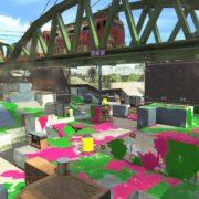 『スプラトゥーン2』で2017年10月6日 午後11時から新しいステージ「エンガワ河川敷」が追加決定!