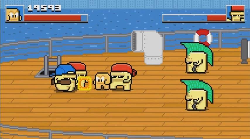 くにおくん風のベルトスクロールアクション『Squareboy vs Bullies: Arena Edition』の海外配信日が10月12日に決定!