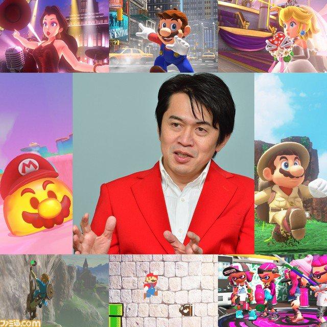 『スーパーマリオ オデッセイ』のプロデュサー・小泉歓晃氏へのインタビューがファミ通.comに掲載