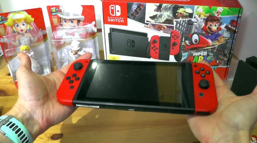 ヨーロッパ版『Nintendo Switch スーパーマリオ オデッセイセット』の開封動画が公開!