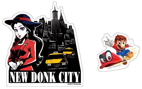 エンスカイから『スーパーマリオオデッセイ トラベルステッカー (全8種)』が2017年12月頃に発売決定!