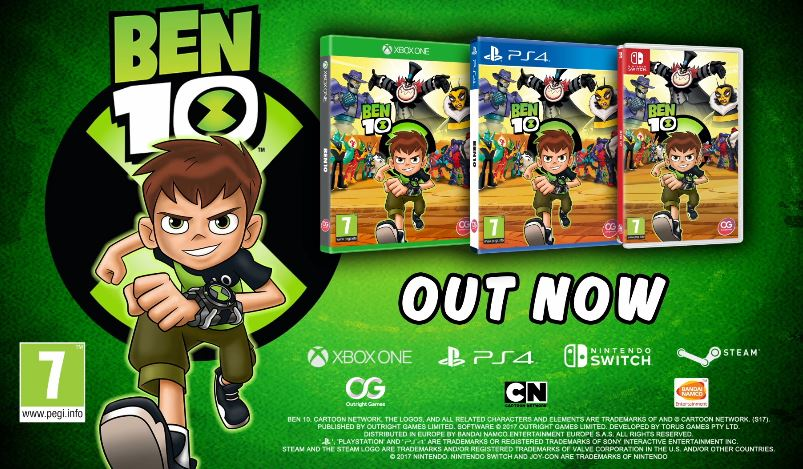 Ben 10 nintendo switch edition ben 10 nintendo switch edition voltagebd Gallery