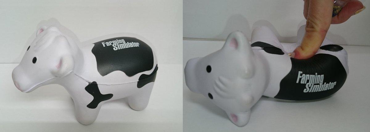『ファーミングシミュレーター Nintendo Switch Edition』の早期購入特典「ぷにぷに牛ちゃんマスコット」の画像が公開!
