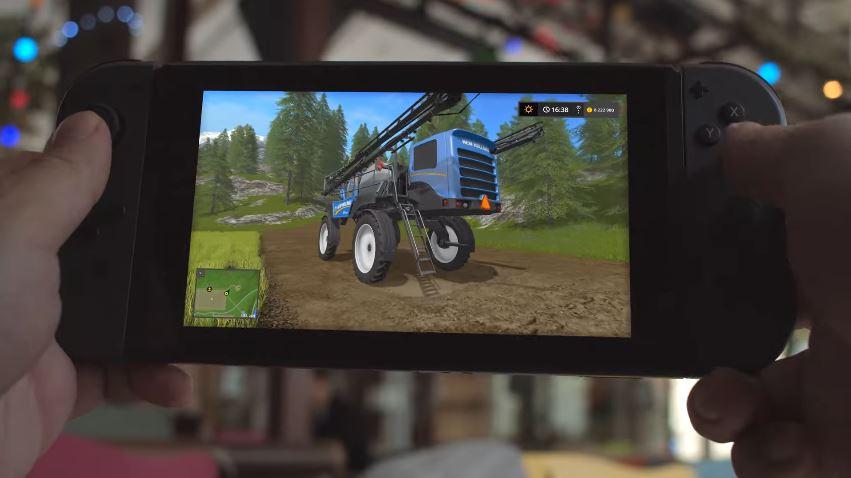『Farming Simulator: Nintendo Switch Edition』のLaunch Trailerが公開!