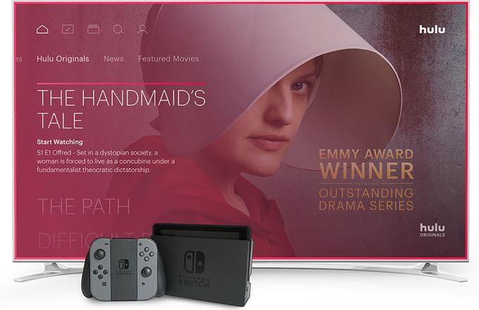 北米で「Hulu」がNintendo Switchで配信決定!
