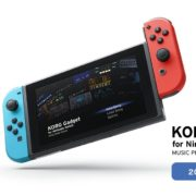 Nintendo Switch用ソフト『KORG』の公式サイトがオープン!