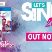 海外で人気のカラオケゲーム『Let's Sing 2018』のローンチトレーラーが公開!