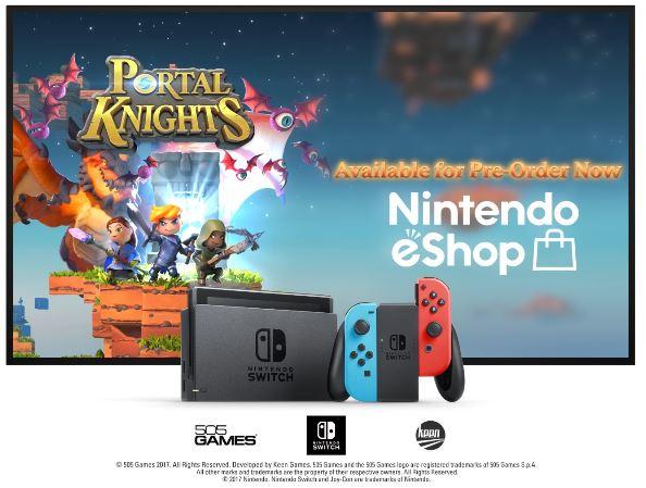 Nintendo Switch版『Portal Knights (ポータルナイツ)』の海外配信日が2017年11月23日に決定!