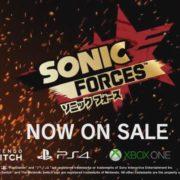 『ソニックフォース』のローンチトレーラーが2017年11月9日に公開!