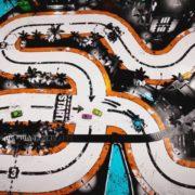 レトロスタイルの見下ろし型レースゲーム『Street Heat』がNintendo Switchで2018年に発売決定!