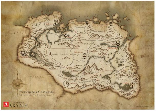 Nintendo UKストアで『The Elder Scrolls V Skyrim』の予約が開始!特典は「A2ポスター」