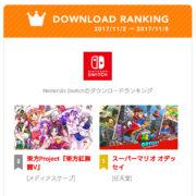 Nintendo Switch版『東方紅舞闘V』がダウンロードランキングで2位に!これを記念したネタパッチの配信が決定
