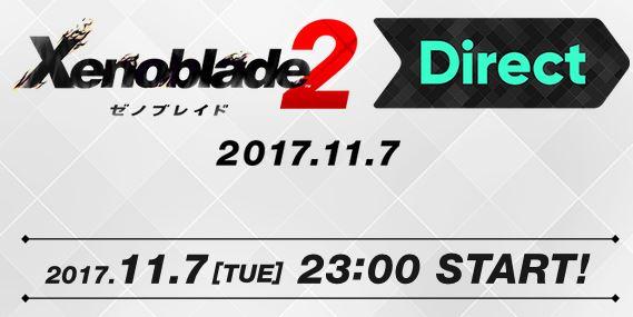 「ゼノブレイド2 Direct 2017.11.7」が2017年11月7日に放送決定!