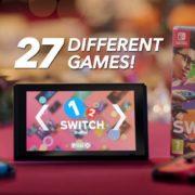 Nintendo UKが『1-2-Switch』のクリスマス用テレビCMを公開!