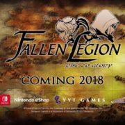 海外制作のARPG『Fallen Legion: Rise to Glory』がNintendo Switchで海外発売決定!