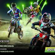 モトクロスレースゲーム『Monster Energy Supercross – The Official Videogame』が2018年3月22日に国内発売決定!