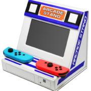 コロンバスサークルから『Switch用 折りたたみアーケードスタンド』が2月5日に発売!アーケード感覚でもゲームプレイが可能に。早速活用する方も登場!