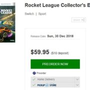 『Rocket League Collector's Edition』がオーストラリアの通販サイト「EB GAMES」に登場!