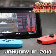肉塊のようなキャラが主人公の2Dアクションゲーム『Super Meat Boy Forever』の海外配信日が2018年1月11日に決定!