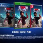 Switch用ソフト『R.B.I. Baseball 18』が海外で発売決定!実在のMLB選手が登場する野球ゲーム