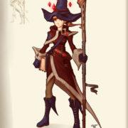 SRPG『Unsung Story』のキャラクターコンセプトアート「Mana Attacker」が公開!