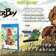 『Wonder Boy: The Dragon's Trap』のパッケージ版が北米で2月13日に発売決定!紹介映像も公開
