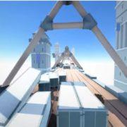 Nintendo Switch用ソフト『Clustertruck』が海外で発売決定!トラックの上を駆け抜けていくレース風のアクションゲーム