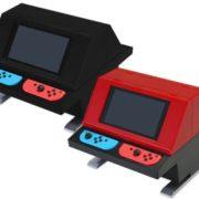 コロンバスサークルから『Switch用対面型アーケードスタンド』が2018年5月に発売決定!