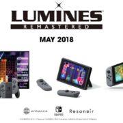 Nintendo Switch用ソフト『ルミネス リマスター』が2018年5月に国内でも発売決定!