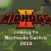 Switch版『Nidhogg 2』が海外で発売決定!国内でも日本一から配信された格闘アクション