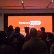 Nintendo NYで行われた「Nintendo Direct 3.8.2018」のライブビューイング リアクション映像が公開!熱狂が凄い!