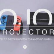 Nintendo Switchのサイズにぴったりなゲーム機対応ポータブルプロジェクター「OJOプロジェクター」のクラウドファンディングが日本でもスタート!